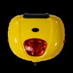 Luna Elektroroller gelb Topcase vorne