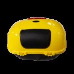 Luna Elektroroller gelb Topcase hinten