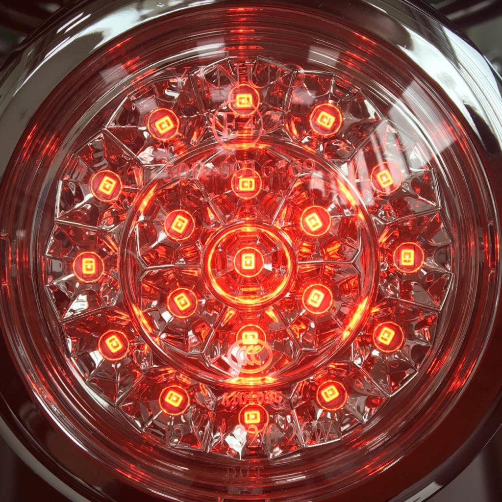 LED Scheinwerfer eines Elektrorollers